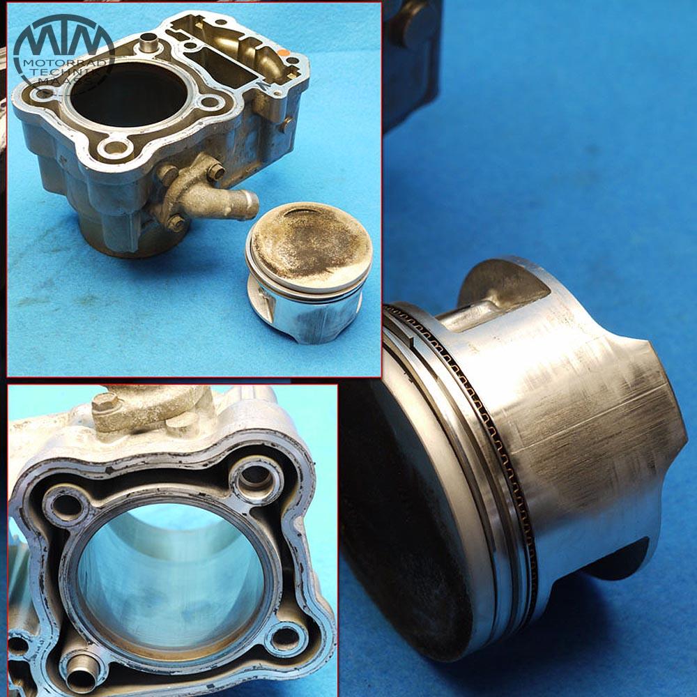 Zylinder & Kolben vorne Honda XRV650 Africa Twin (RD03)
