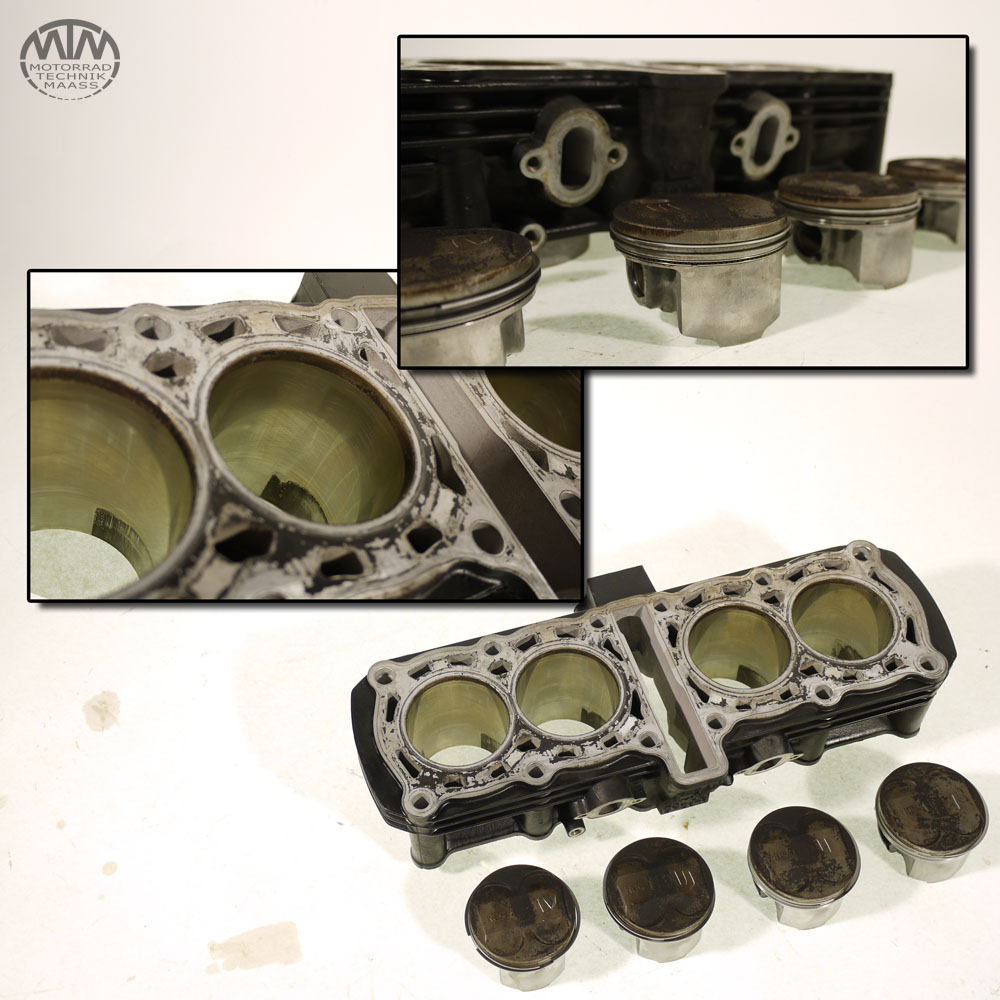 Zylinder & Kolben Yamaha FZS600 Fazer (RJ02)