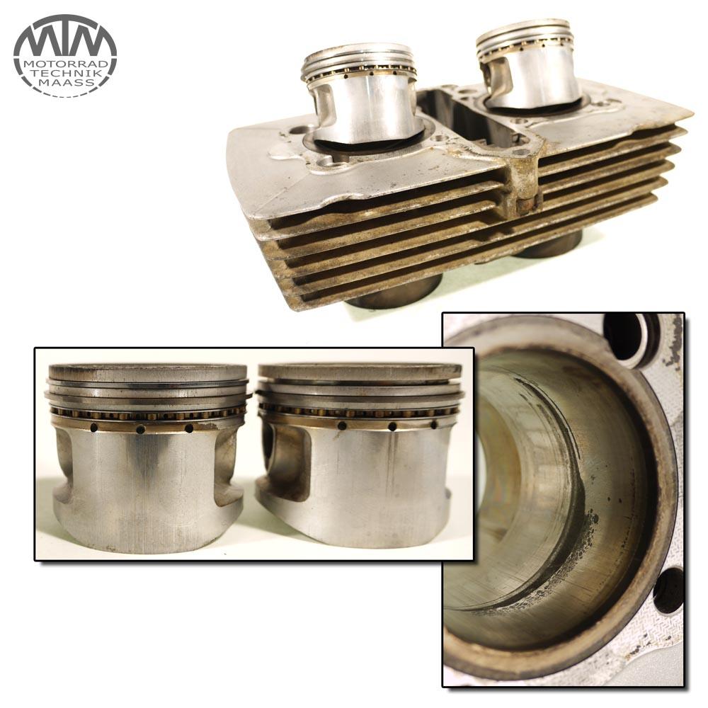 Zylinder & Kolben Honda CM185 CM 185 T (MC01)