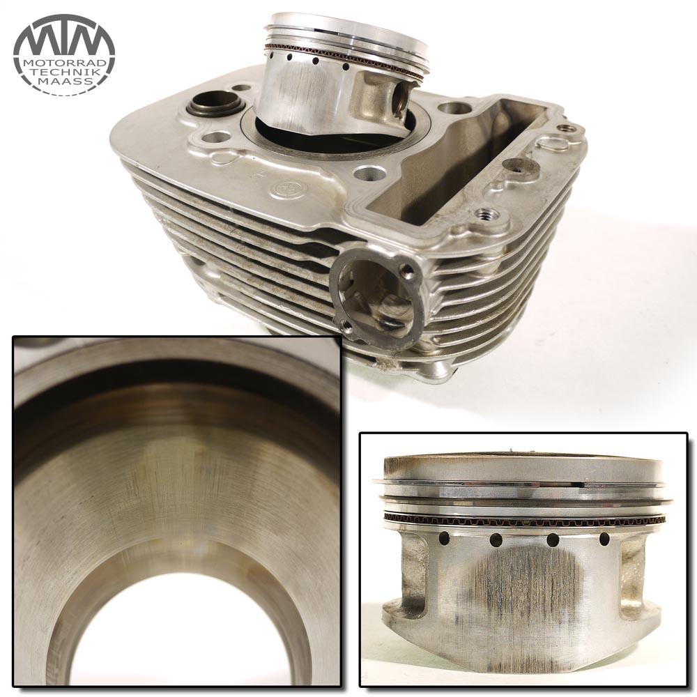 Zylinder & Kolben hinten Yamaha XV535 Virago XV  (2YL)