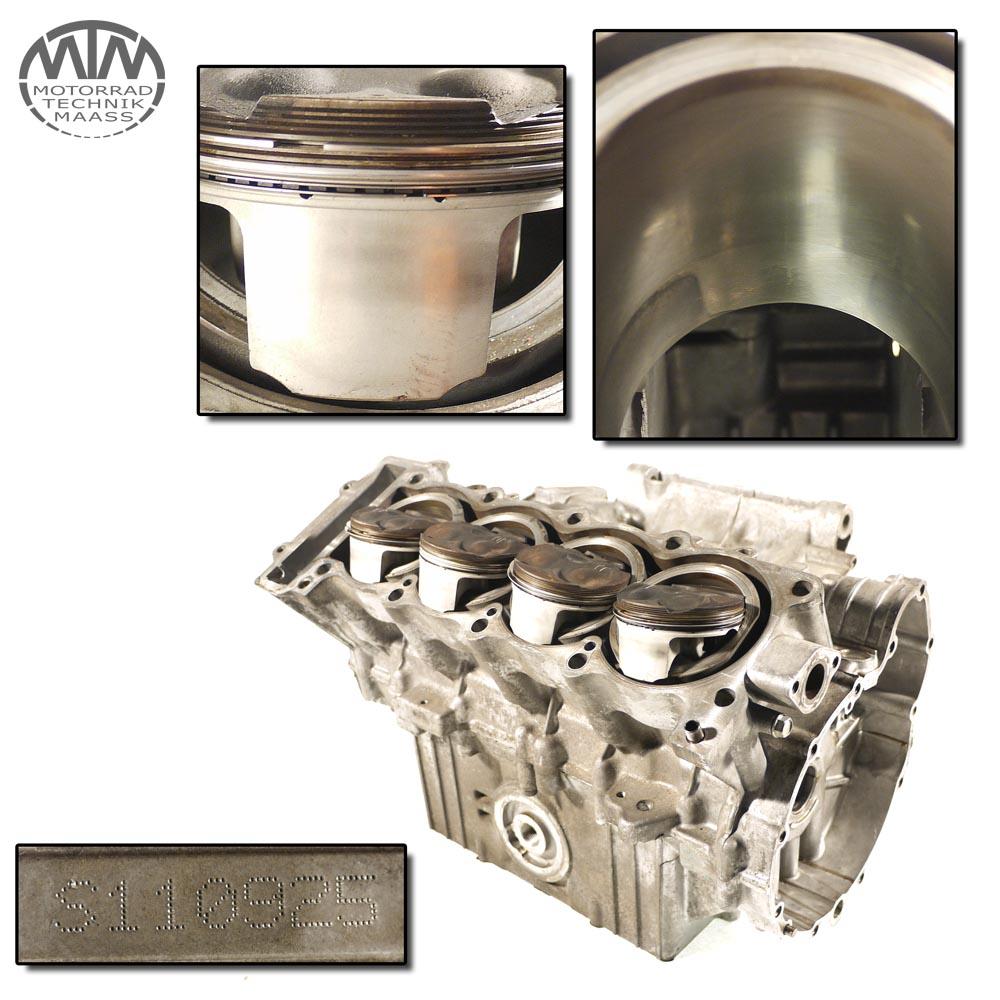 Motorgehäuse, Zylinder & Kolben Triumph TT600 (806AD)