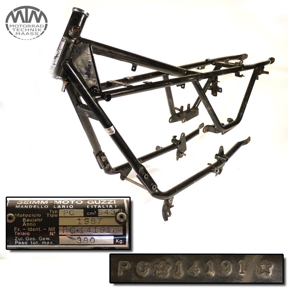 Rahmen, Fahrzeugbrief & Vermessungsprotokoll Moto Guzzi V65 (PG)