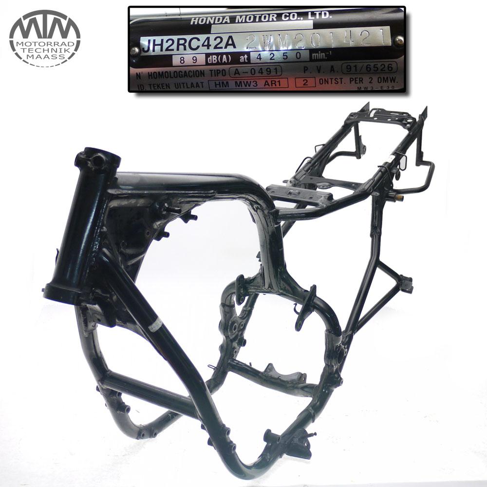 Rahmen, Brief & Vermessungsprotokoll Honda CB750 Seven Fifty (RC42)