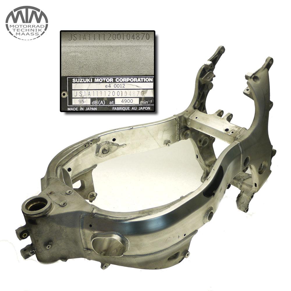 Rahmen, Fahrzeugbrief, Schein & Messprotokoll Suzuki GSX1300R Hayabusa (WVA1)
