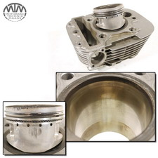 Zylinder & Kolben vorne Yamaha XV535 Virago  (2YL)