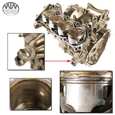 Motorgehäuse, Zylinder & Kolben Honda CB600F (PC36)