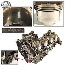 Motorgehäuse, Zylinder & Kolben Honda CBF600 (PC38)