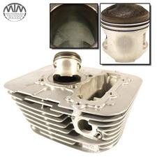 Zylinder & Kolben hinten Yamaha XV125 Virago (5AJ)
