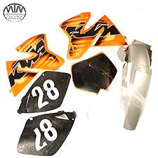 Satz Verkleidung KTM 250 EXC (2T-EXC)