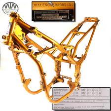 Rahmen, Brief & Vermessungsprotokoll Kawasaki KLE500 (LE500ABA)