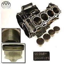 Motorgehäuse, Zylinder & Kolben Honda CBR1100XX Super Blackbird (SC35)