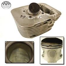Zylinder & Kolben vorne Yamaha XV125 Virago (5AJ)