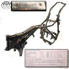 Rahmen, Fahrzeugbrief & Vermessungsprotokoll Yamaha XV750 Virago (4PW)