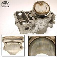Zylinder & Kolben hinten Kawasaki VN750 Twin (VN750A)