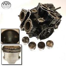 Motorgehäuse, Zylinder & Kolben Honda VF750F (RC15)
