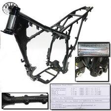 Rahmen & Vermessungsprotokoll Kreidler 125DD Enduro (QM125GY)