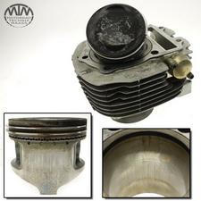 Zylinder & Kolben hinten Yamaha XV1000 Virago (56V)