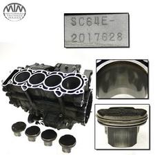 Motorgehäuse, Zylinder & Kolben Honda CBF1000 FA (SC64)