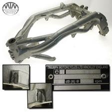 Rahmen, Fahrzeugbrief & Fahrzeugschein Triumph Daytona 955I (595N)