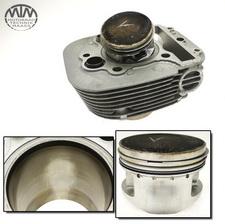 Zylinder & Kolben vorne Yamaha XV535 Virago (VJ01)