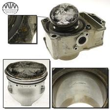 Zylinder & Kolben vorne Yamaha XZ550 (11U)