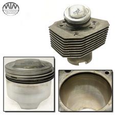 Zylinder & Kolben rechts Moto Guzzi California 3 (VW)