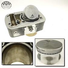 Zylinder & Kolben vorne Honda VT600C Shadow (PC21)