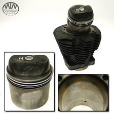 Zylinder & Kolben hinten Harley Davidson XLH1000