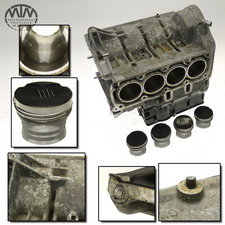 Motorgehäuse, Zylinder & Kolben BMW K1