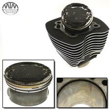Zylinder & Kolben hinten Harley Davidson FLHPI 1450 Road King