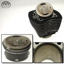 Zylinder & Kolben vorne Harley Davidson Dyna Low Rider FXDL-I