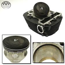 Zylinder & Kolben vorne Yamaha XVS650 Drag Star (VM)