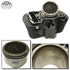 Zylinder & Kolben vorne Honda VT1100C2 Shadow (SC43)