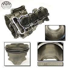 Motorgehäuse, Zylinder & Kolben Honda CB900F Hornet (SC48)
