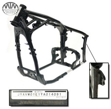 Rahmen, US Title, U-Bescheinigung & Protokoll Yamaha XVS650 DragStarClassic (VM)