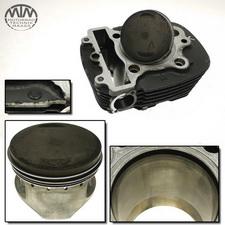 Zylinder & Kolben vorne Yamaha XVS650 Drag Star Classic (VM)