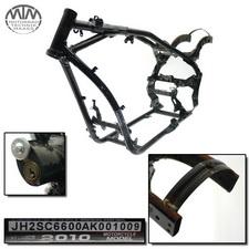Rahmen, US Title, U-Bescheinigung & Vermessungsprotokoll Honda VT1300