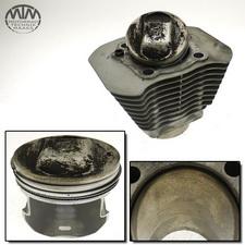 Zylinder & Kolben vorne Buell XB9R Firebolt