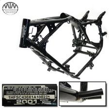 Rahmen, US Title, Bescheinigung & Messprotokoll Honda VT1100C2 Shadow (SC43)