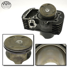 Zylinder & Kolben hinten Suzuki VL800 Volusia (WVBM)