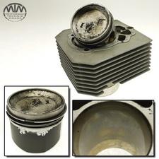 Zylinder & Kolben links Moto Guzzi Nevada 750 (LK)