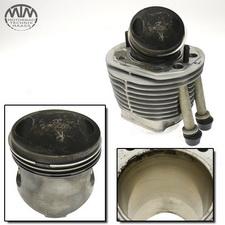 Zylinder & Kolben rechts BMW R80 (247)