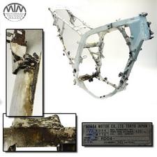 Rahmen, Fahrzeugbrief, Schein & Messprotokoll Honda XRV750 Africa Twin (RD04)