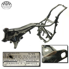Rahmen, US Title, U-Bescheinigung & Messprotokoll Yamaha XV750 Virago (4PW)