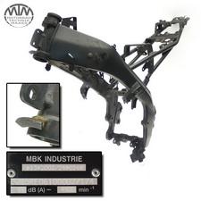 Rahmen, COC Papiere, Fahrzeugschein & Messprotokoll Yamaha YZF-R125 (RE06)