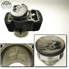 Zylinder & Kolben vorne Kawasaki VN1500