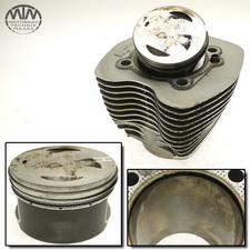 Zylinder & Kolben hinten Harley Davidson FXST 1450 Softail
