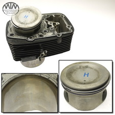 Zylinder & Kolben hinten Suzuki VL1500 LC Intruder