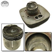 Zylinder & Kolben vorne Moto Morini 3 1/2