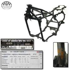 Rahmen, Fahrzeugbrief, Schein & Messprotokoll Honda GL1200 Gold Wing (SC14)